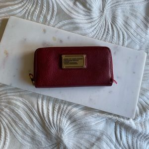 Marc by Marc Jacobs Red Continental Wallet